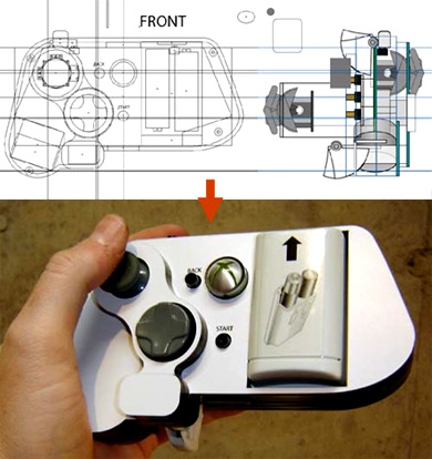one-handed xbox 360