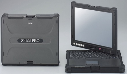 nec shieldpro tablet pc
