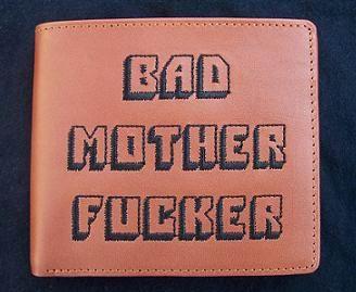 Bad Mother Fucker Pulp Fiction