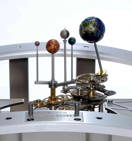 Planetarium Tellurium - механическая модель мира.