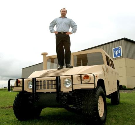 Balsa Humvee