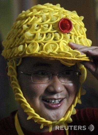 Condom Safety Helmet