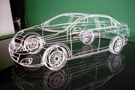 Wireframe Toyota