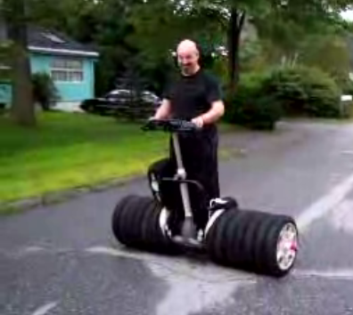 The Monster Truck Of Segways Gearfuse