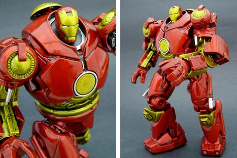 [MOC] Super Heroes: MK II armor Hul-buster-iron-man-figure