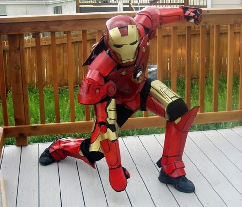 Iron Man Suit Cosplay Iron Man Suit Too Bad if