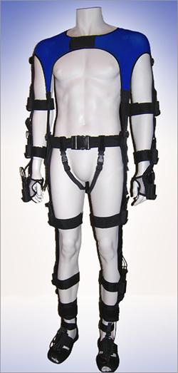 Motion-capture Crotch Suit