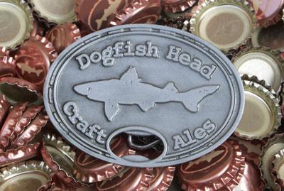 Dogfish Head Belt-Buckle Bottle-Opener