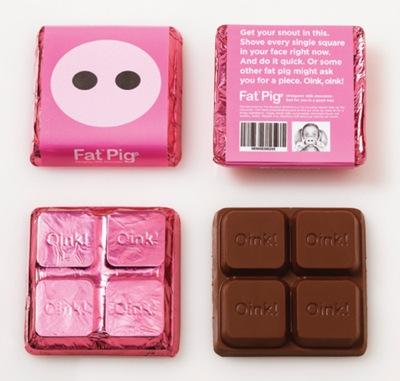 Fat pink asshole