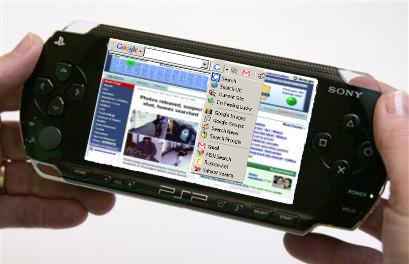 how to play videos on psp internet browser