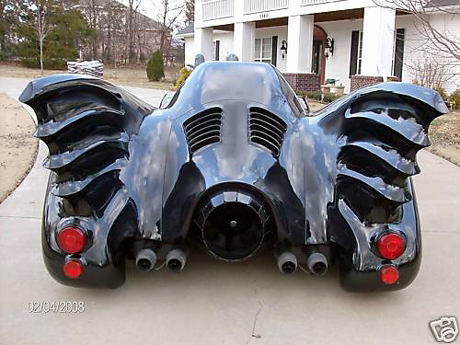 sell that google stock batmobile for sale on ebay gearfuse. Black Bedroom Furniture Sets. Home Design Ideas