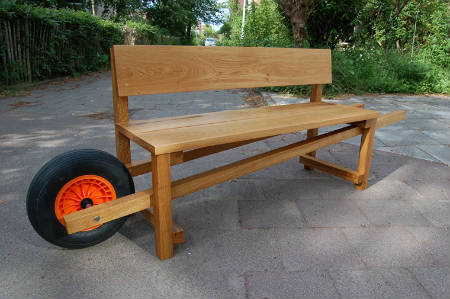 simple park bench design