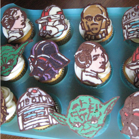 swcupcakes Breakfast: Star Wars Cupcakes