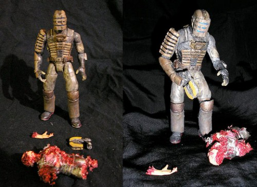 Diy Dead Space Action Figures Gearfuse