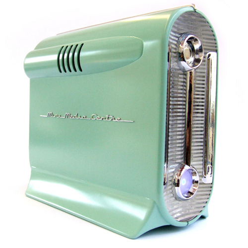 Mini Media Centre Case Design Of The 1950s | GEARFUSE