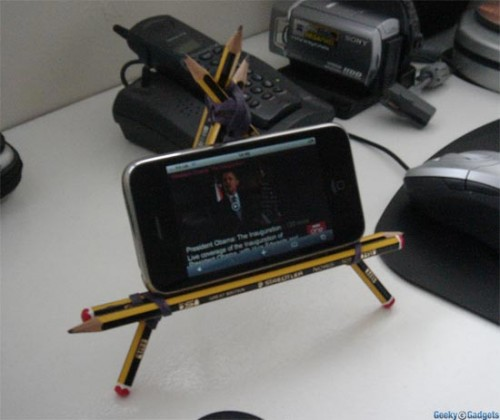 Fan Mail: DIY Pencil IPhone Stand