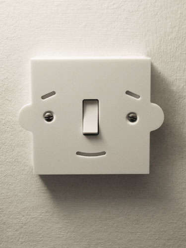 Mr  Switch Light Switch Loves When You Flick His Nose