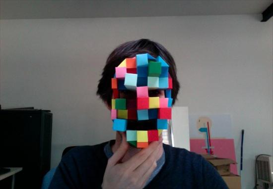 Как сделать маску страшную