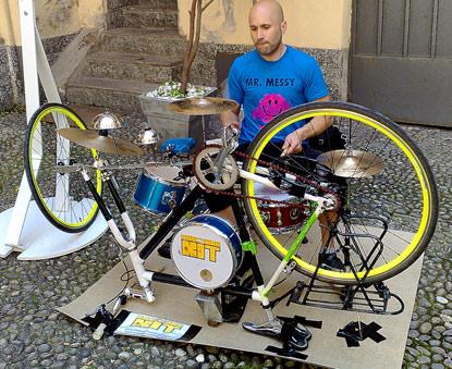 traveling drum kit