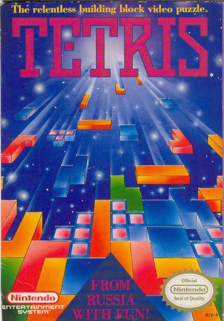 The hardest game ever Tetris-nintendo