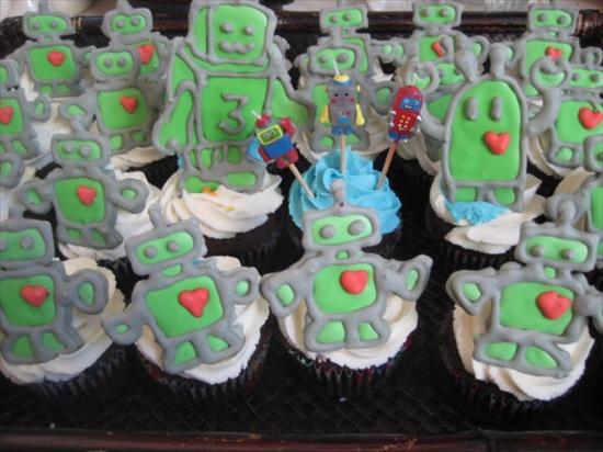 robot-cupcakes