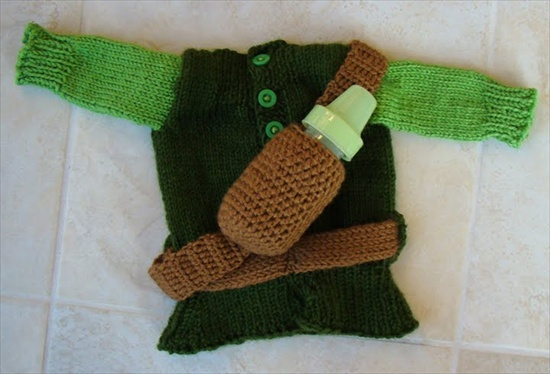 Baby Zelda Knitting Pattern : Hand-Knit Zelda Baby Clothes Gearfuse