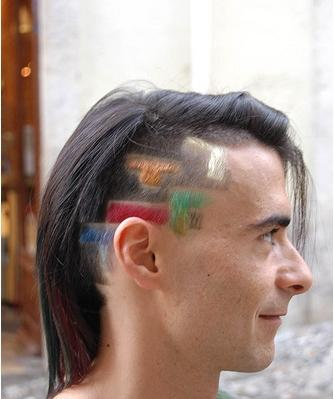 tetris bricks hair cut