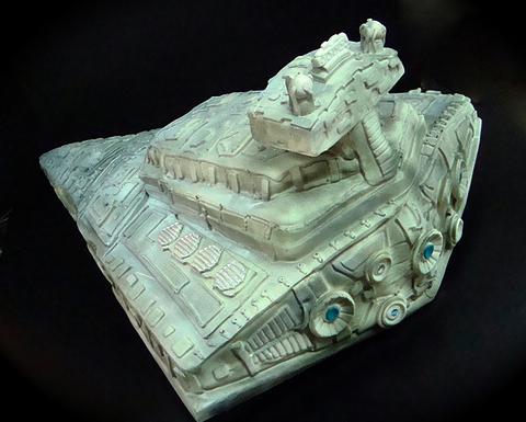 star-destroyer-cake