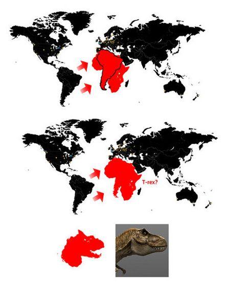 africa-south-america-t-rex