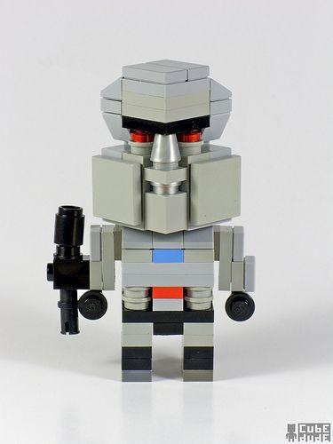 Lego Transformers Characters Gearfuse