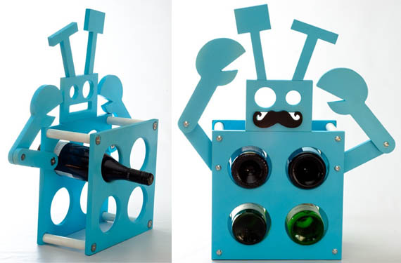 Robot-Wine-Rack