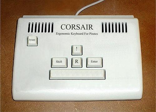 pirate computer keyboard