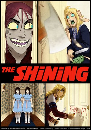 if the shining was an anime feature gearfuse