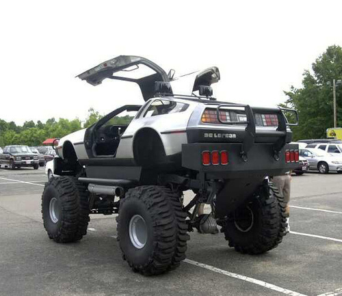 Iam A Rider Lambogini Song Download: Back To The Future DeLorean Monster Truck