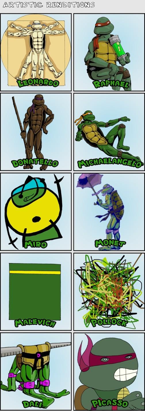 teenage-mutant-ninja-turtles-art - History of Art - Lifestyle, Culture and Arts