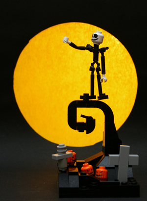 So This is Christmas: The Nightmare Before Christmas LEGO-ized ...