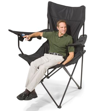 Supersized Camping Chair Makes You Look Pocket Sized