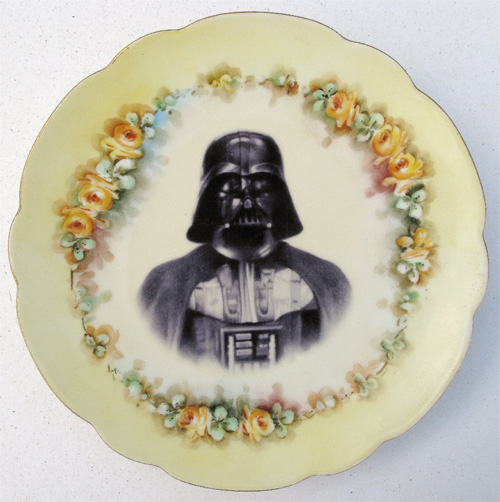 There ... & Star Wars Porcelain China Plates: Only For Special Occasions | Gearfuse