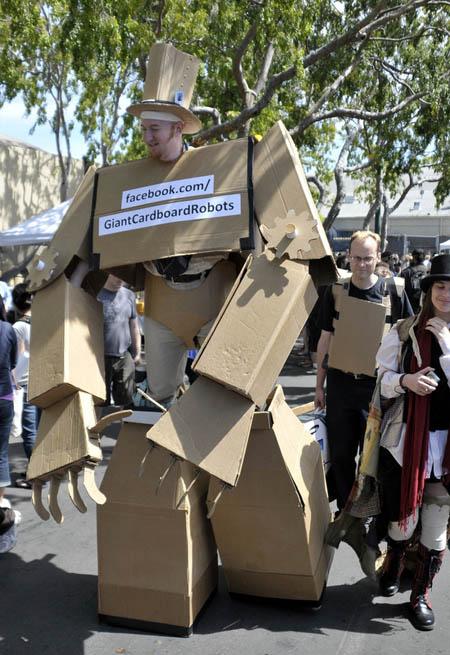 Cardboard Robots Name Giant Cardboard Robot Arms