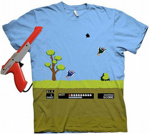 duck hunt t shirt