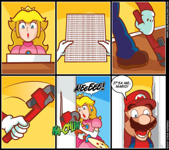 Heeeeeere's Mario!: The Shining Meets The Mushroom Kingdom