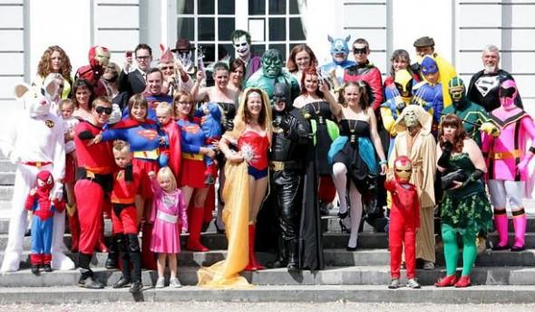 superhero wedding My Big Fat Geek Wedding