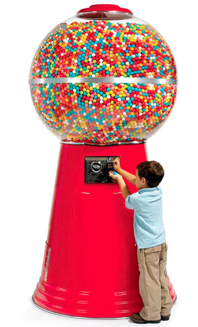 Your Very Own Really Massive Gumball Machine