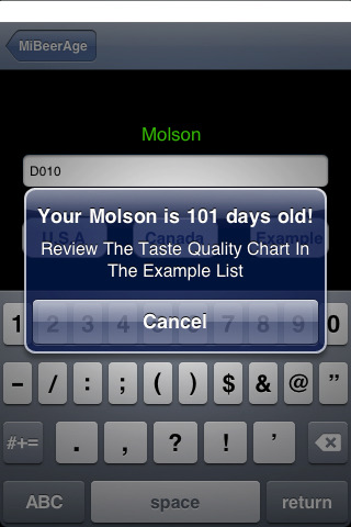 MiBeerAge iPhone App Tells You Exactly How Old Your Beer Is