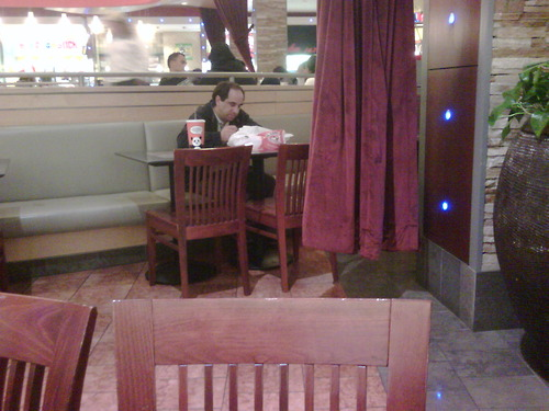 Table for one restaurant