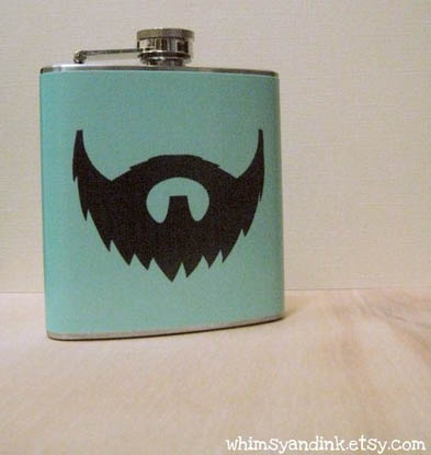 Beard Flask: For Drinkers Incapable of Growing Their Own