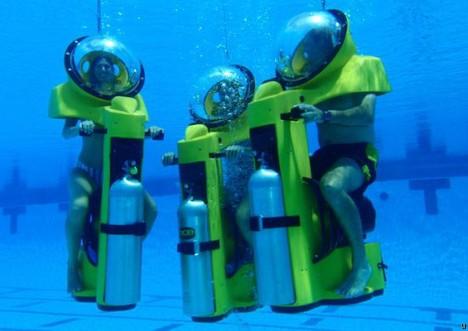 Hydrodome BOB: The Underwater Scooter