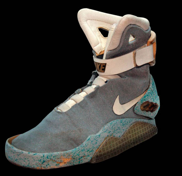 Marty Mcfly S Actual Self Tying Sneakers Are For Sale