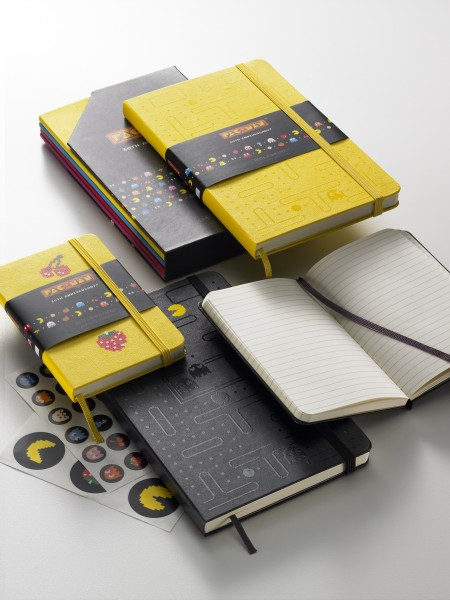 Limited Edition Pac-Man Moleskine Notebooks