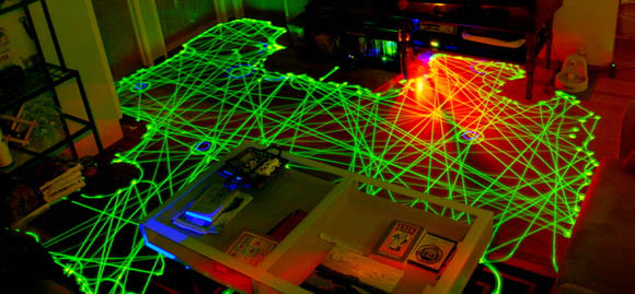 Robotic Vacuum Paths Mapped and Compared with Long Exposure Photography